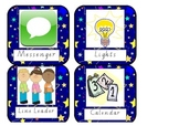 Classroom Helper Labels Stars