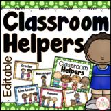 Classroom Jobs Chart - Editable {Dots Classroom Set}