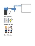 Classroom Helper Visual Chart