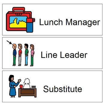 Classroom Helper labels