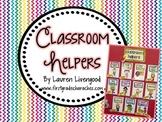 Classroom Helper/Job Kit