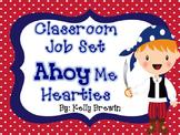 Classroom Helper/Jobs--Ahoy Me Hearties Pirates Set