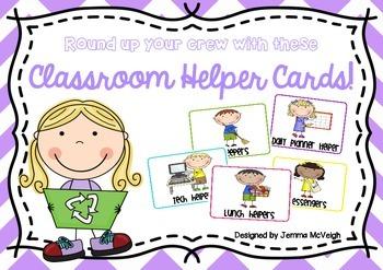 FREE Classroom Helpers ~ Miss Mac Attack ~