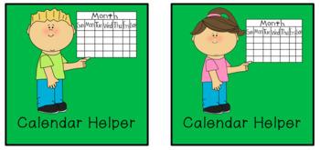 Classroom Helpers/Jobs
