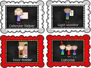 Classroom Helpers - Bold