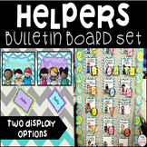 Classroom Helpers Bulletin Board Set- 2 Options
