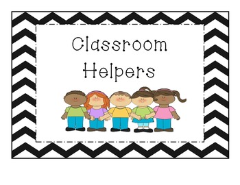 Classroom Helpers-Cards
