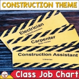 Construction Theme Classroom Decor Classroom Helpers