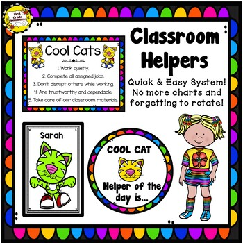 Classroom Helpers: Cool Cats