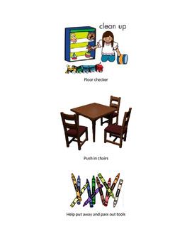 Classroom Helpers, Daily Jobs