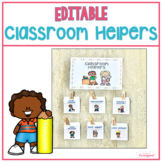 Classroom Helpers Display Boho Inspired