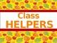 Classroom Helpers Editable - Autumn Theme