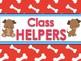 Classroom Helpers Editable - Dog Theme