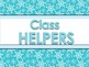 Classroom Helpers Editable - Winter Theme