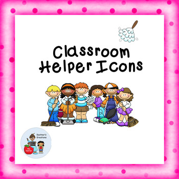 Classroom Helpers Jobs Icons