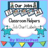 Classroom Helpers Job Chart Labels