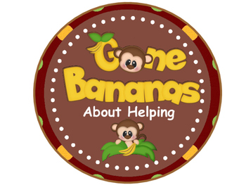 Classroom Helpers - Monkey Theme