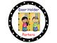 Classroom Helpers Polka Dot Theme (Black)