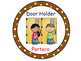 Classroom Helpers Polka Dot Theme (Brown)