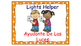 Classroom Helpers Polka Dot Theme (Orange)