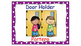 Classroom Helpers Polka Dot Theme (Purple)