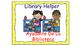 Classroom Helpers Polka Dot Theme (Yellow)