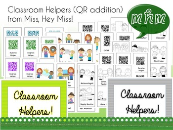 Classroom Helpers (QR edition)
