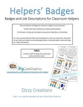 Classroom Helpers Set