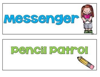 Classroom Helpers Pack