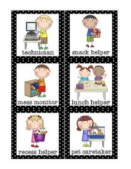 Classroom Helpers Set {FREE}