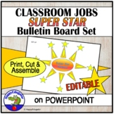 Classroom Jobs Super Star Helpers