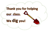 Classroom Helpers Thank You Card