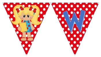 Classroom Helpers Welcome Banner And Tables Signs
