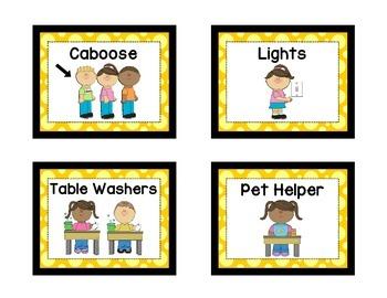 Classroom Helpers - YELLOW