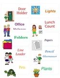 Classroom Helpers (labels)