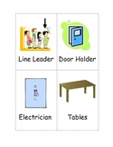 Classroom Helpers with pictures