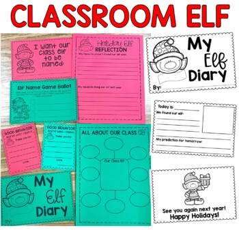 Classroom Holiday Elf
