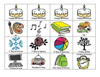 Classroom & Homeschool Calendar Set