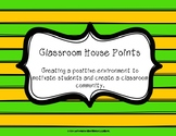 Classroom House Points
