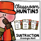 Subtraction Scavenger Hunt {a Task Card Math Game}