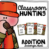 Addition Scavenger Hunt {a Task Card Math Game}