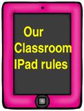 Classroom IPad Rules Posters