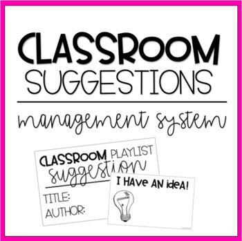 Classroom Ideas | Classroom Management | Organization | Freebie