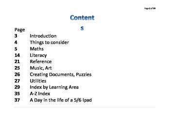 Classroom Ideas for Using Ipads