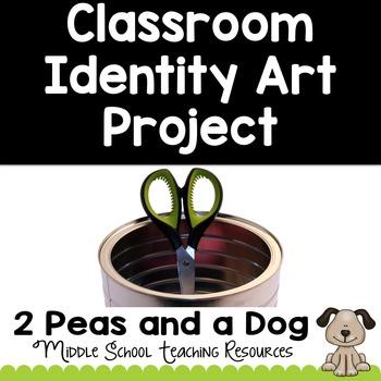 Back to School Class Identity Art Project