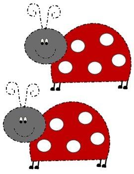 Classroom Incentive- Color a dot Ladybug