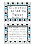 Classroom Incentive Passes