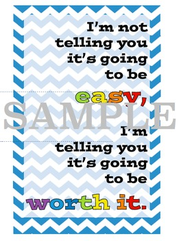 Classroom Inspiration Posters