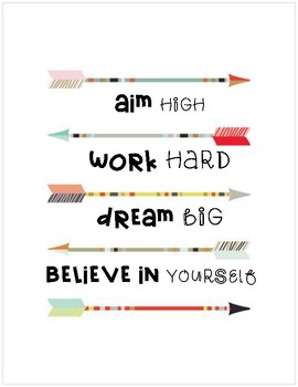 Classroom Inspirational Posters