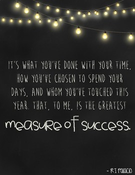 Classroom Inspirational Quotes (Wonder)